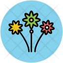 Flowers Wedding Decoration Icon