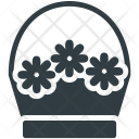 Flowers Basket Gift Icon