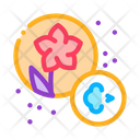 Allergy Flowers Color Icon