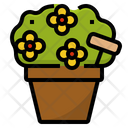Ornamental Plant Flowers Icon