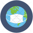 Flu Worldwide Pandemic Icon