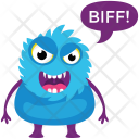 Fluffy Monster Icon