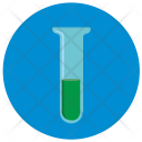 Fluid Glass Chemistry Icon