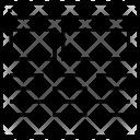 Fluid Grid Icon