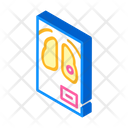 Fluorography Snapshot Isometric Icon
