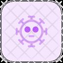 Flushed Coronavirus Emoji Coronavirus Icon
