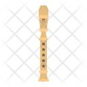 Wood Flute Melody Icon