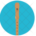 Wooden Flute Music Icon