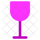Flute Glass Drink Cup Icon