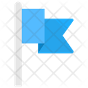 Fluttering Flag Destination Icon