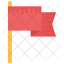 Fluttering Flag Icon