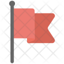 Fluttering Flag Icon
