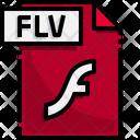 Flv File Flv File Format Icon