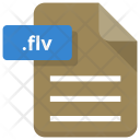 Flv file Icon