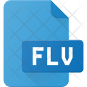 Flv Film Icon