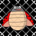 Fly Ladybug Icon