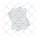 Flyer Document Files Icon