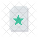 Flyer Paper Files Icon