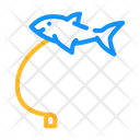 Flying Fish Toy Icon