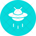 Flying Saucer Ufo Icon