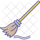 Flying Broom Cleaning Broom Broom Icon