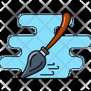 Flying Broom Broomstick Sorcery Icon
