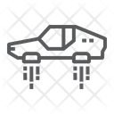 Flying Car Technology Icon