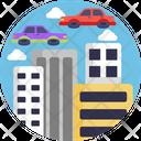 Flying Car Icon