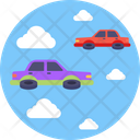 Flying Cars Icon