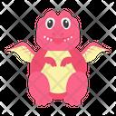 Flying Dinosaur Icon