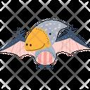 Flying Dinosaur Pterodactyl Pterodactyl Bird Icon