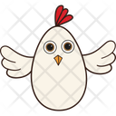 Flying Hen Icon
