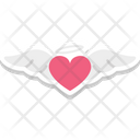 Flying letter Icon