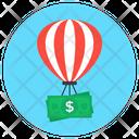 Flying Money Flying Cash Paper Money Icon