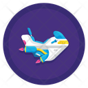 Flying Motorcycle Icon