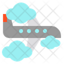 Flying Flight Plane Icon