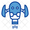 Flying Robot Icon