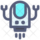 Robot Hand Claw Icon