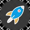 Flying Rocket Missile Rocket Icon
