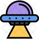 Flying Saucer Space Icon