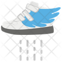 Flying Shoes Technological Shoes Fast Shoes Icon