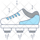 Flying Shoes Fast Shoes Artificial Intelligence Icon