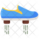Flying Shoes Footwear Footgear Icon