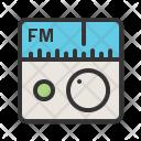 Fm Radio Device Icon