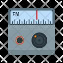 Fm Radio Multimedia Icon
