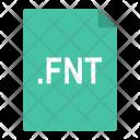Fnt Font File Icon