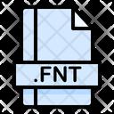 Fnt File File Extension Icon