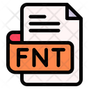 Fnt File Type File Format Icon