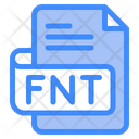 Fnt Document File Icon