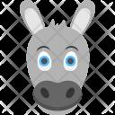 Baby Donkey Foal Icon